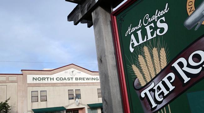 Exterior view of North Coast Brewing Company